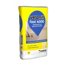 Наливной пол WEBER VETONIT FAST 4000 / Вебер Ветонит Фаст 4000 (20 КГ)