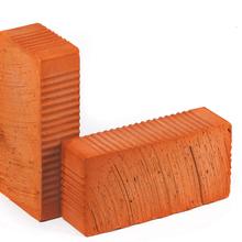 Кирпич керамический строительный рабочий черновой одинарный полнотелый М-100