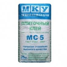 Клей для плитки и ячеистого бетона МКУ Стандарт МС 5