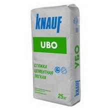 Легкая цементная стяжка пола Кнауф УБО 25кг