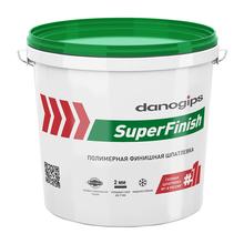 Шпатлевка DANOGIPS SuperFinish универсальная финишная белая 17л (28кг)