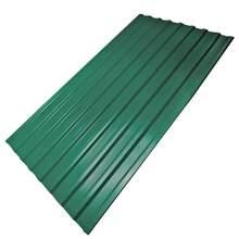 Профнастил лист С20 цвет зеленый