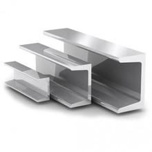 Швеллер металлический; ширина полки 160 мм