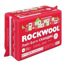 Утеплитель Роквул (Rockwool) Лайт Баттс Скандик ( 800х600х50мм)